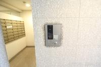 防犯設備:カメラ付インターフォン