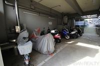 駐輪場:バイク置き場