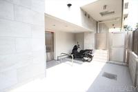 駐輪場:バイク置場